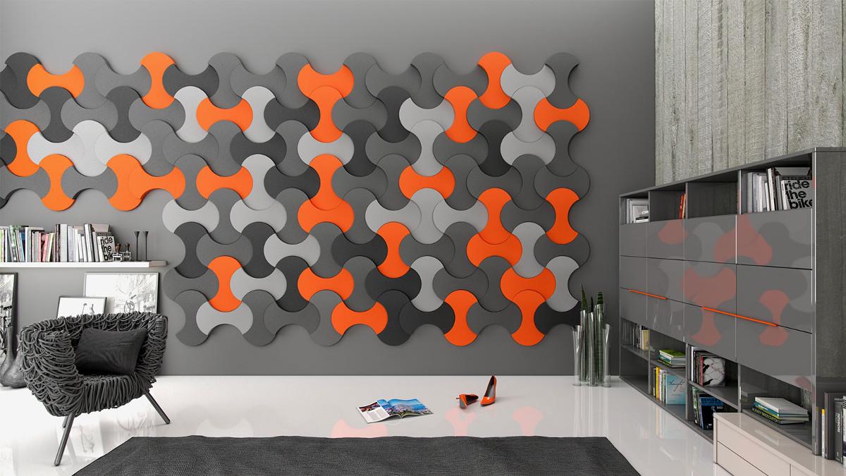 Akustické panely na stěnu